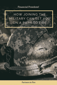 the military and financial independence