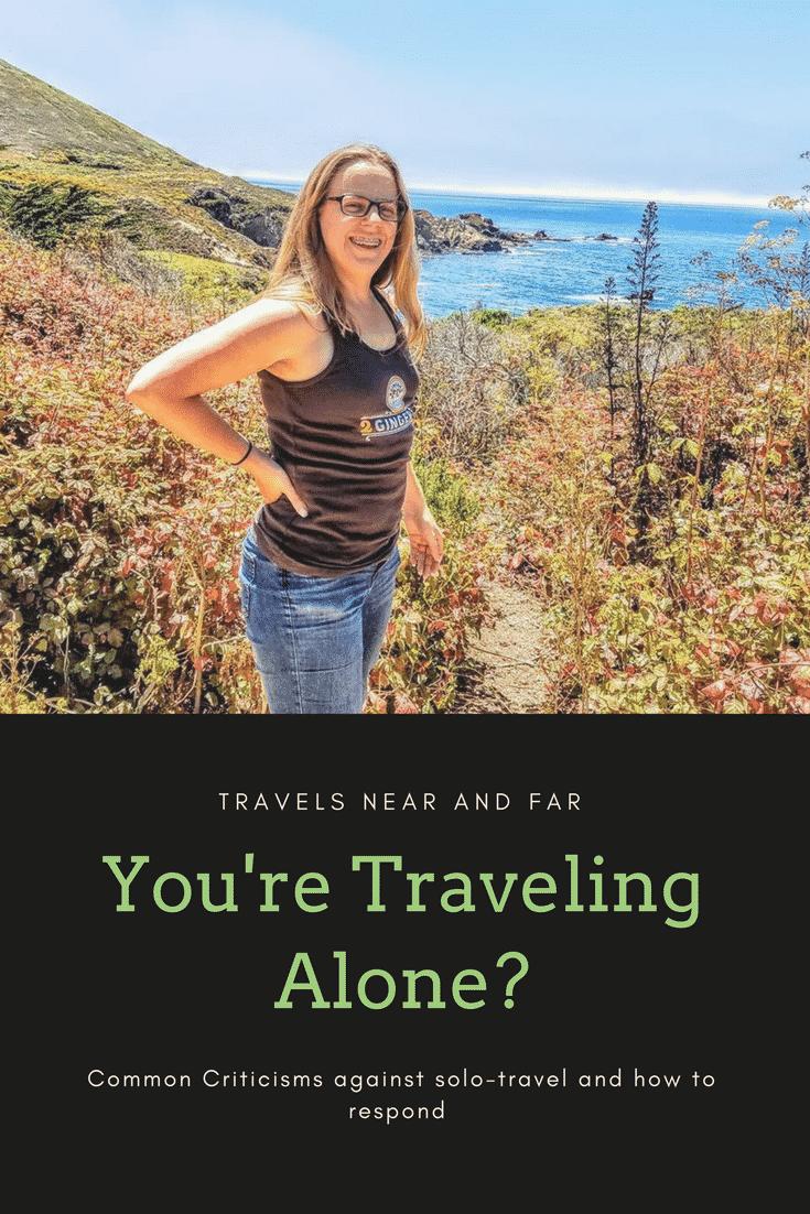 """traveling alone pin"""