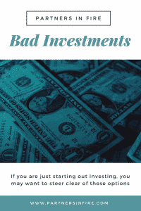 """bad investments for beginners"""