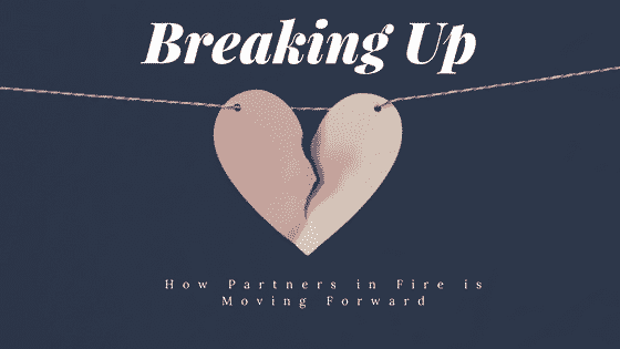 """breaking up"""