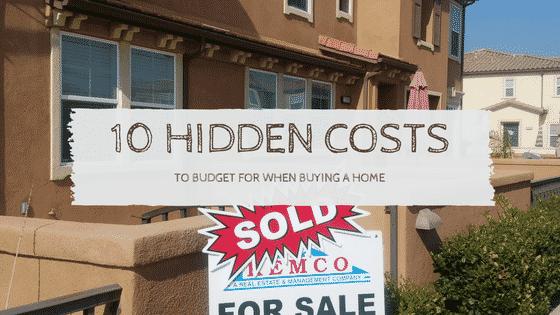 """""""hidden costs"""""""