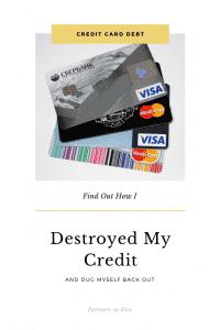 """""""Destroying my Credit"""""""