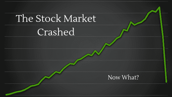 """What to do when the market crashes"""