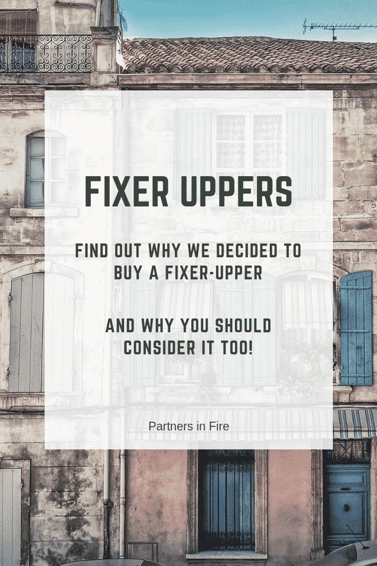 buying a fixer upper