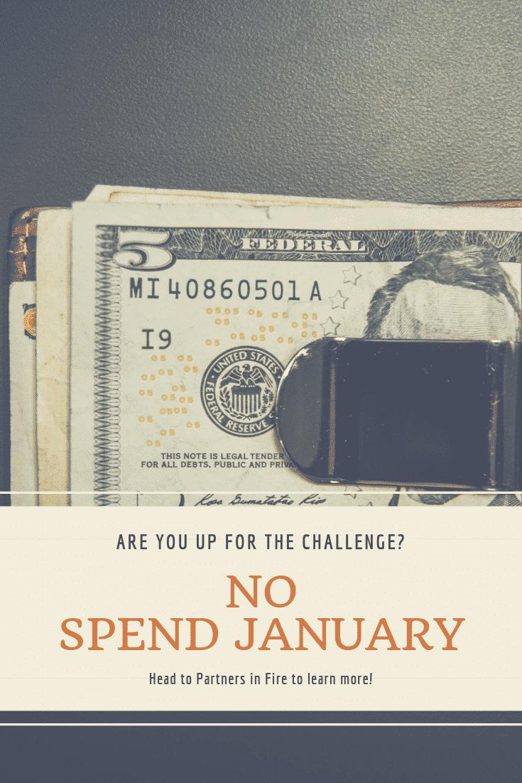 """no spend January"""