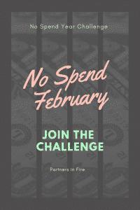 """no spend February challenge"""