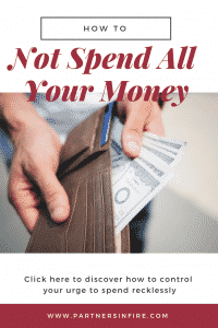 """""""how to stop spending all your money"""""""