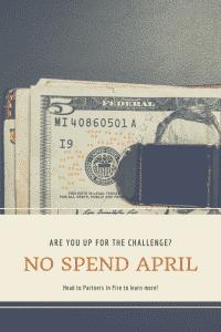 No spend April