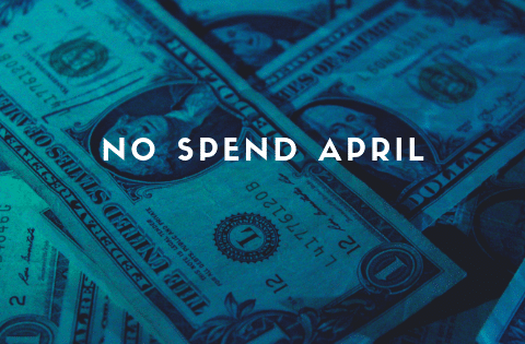 no spend april update