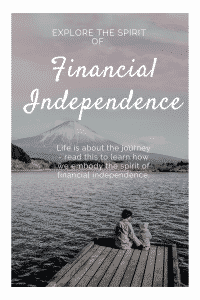 """the spirit of financial independence"""