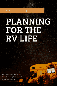 """""""planning for the rv life"""""""