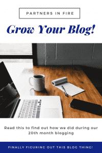 """""""Twentieth month blogging"""""""