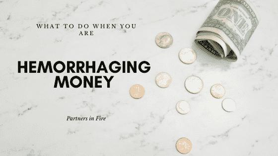 """Hemorrhaging Money"""