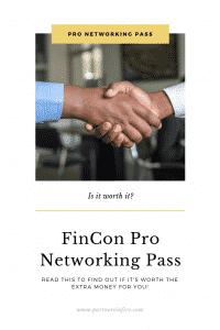 Fincon Pro-Networking Pass