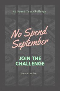 """""""No spend September"""""""