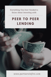 """Investing with peer to peer lending"""