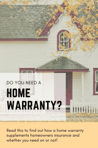 """do you need a home warranty"""
