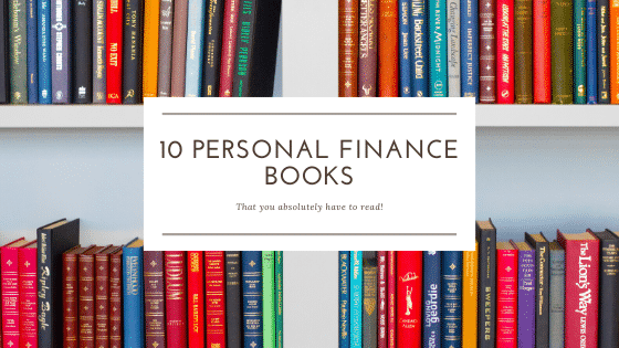 """""""10 must read personal finance books"""""""