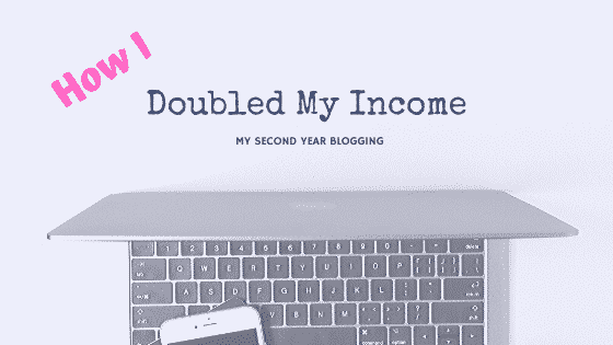 doubled my blog income