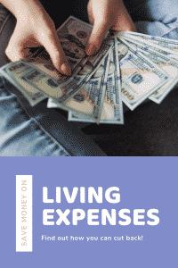 saving money on living expenses