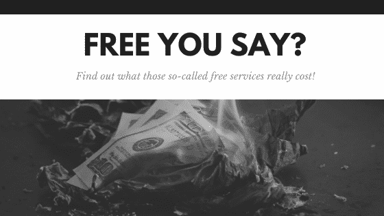 """""""nothing is free"""""""