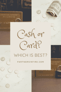 """""""is it best to use cash or card?"""""""