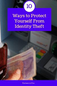 """10 ways to prevent identity theft"""