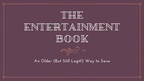 The entertainment book