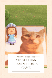 """""""what animal crossing teaches"""""""