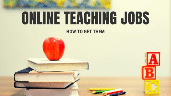 """""""online teaching jobs"""""""
