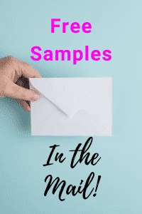 free samples in the mail