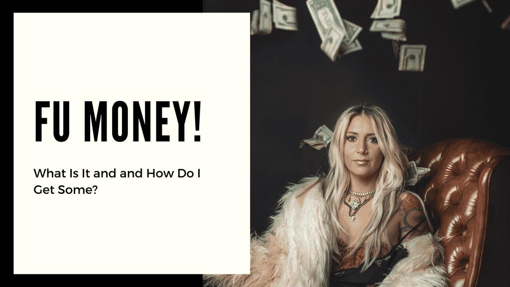 """FU Money"""