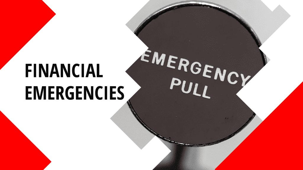 """""""financial emergency"""""""