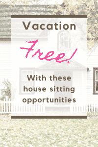 the best house sitting jobs