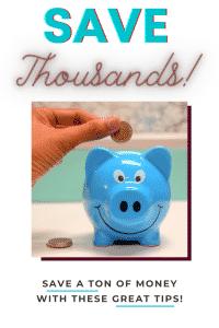 save thousands of dollars