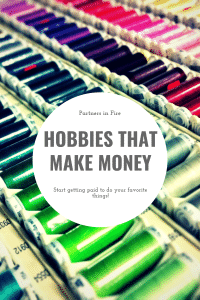 Make money with your hobbies
