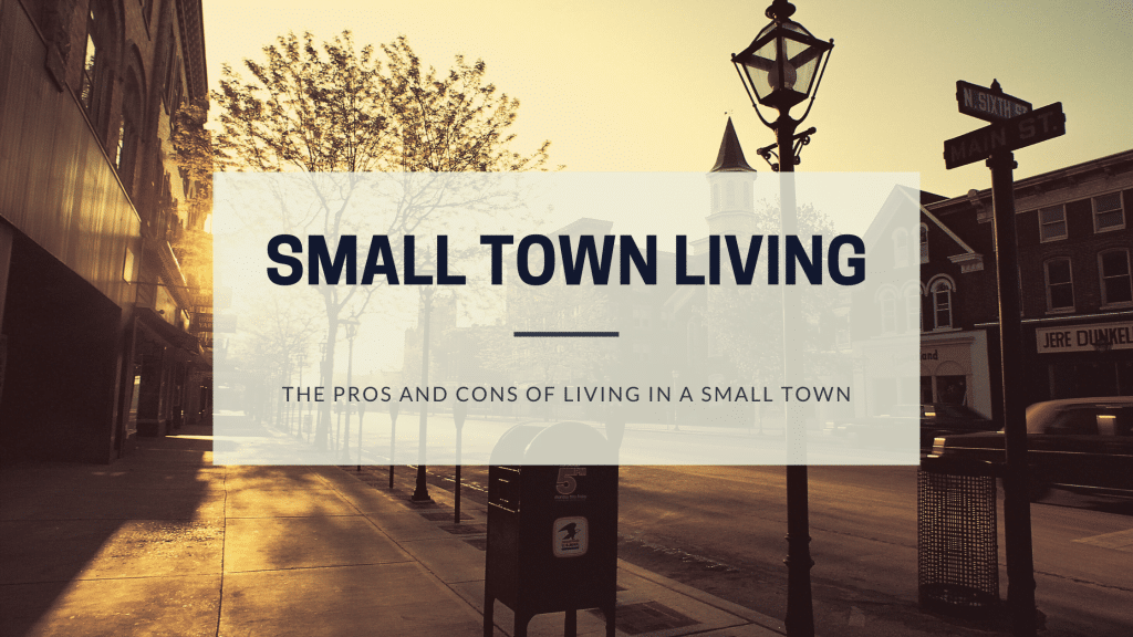 living in a small town