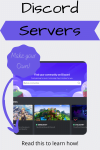 how to create a discord server