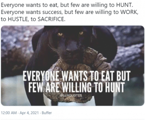hustle culture example