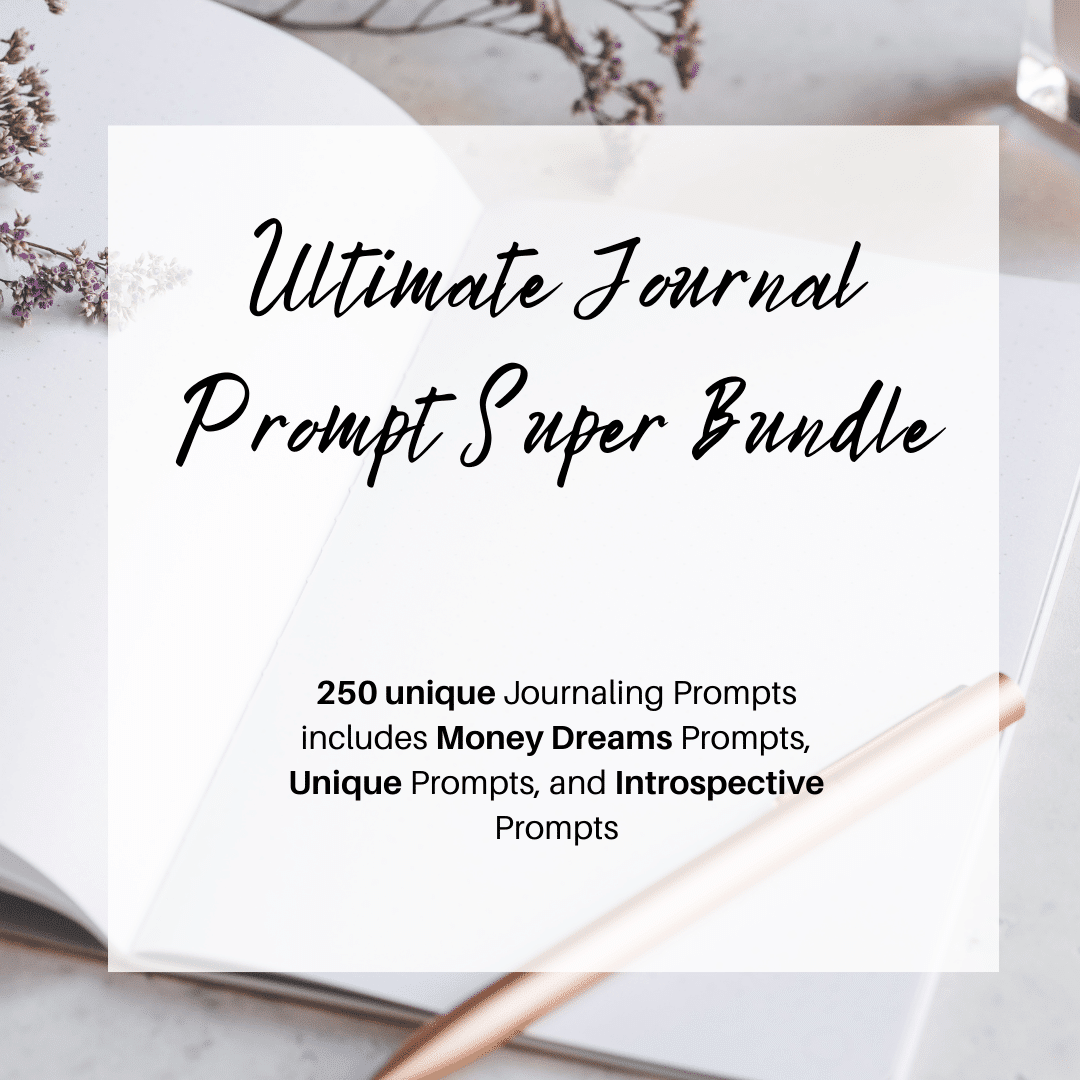super bundle of journaling prompts