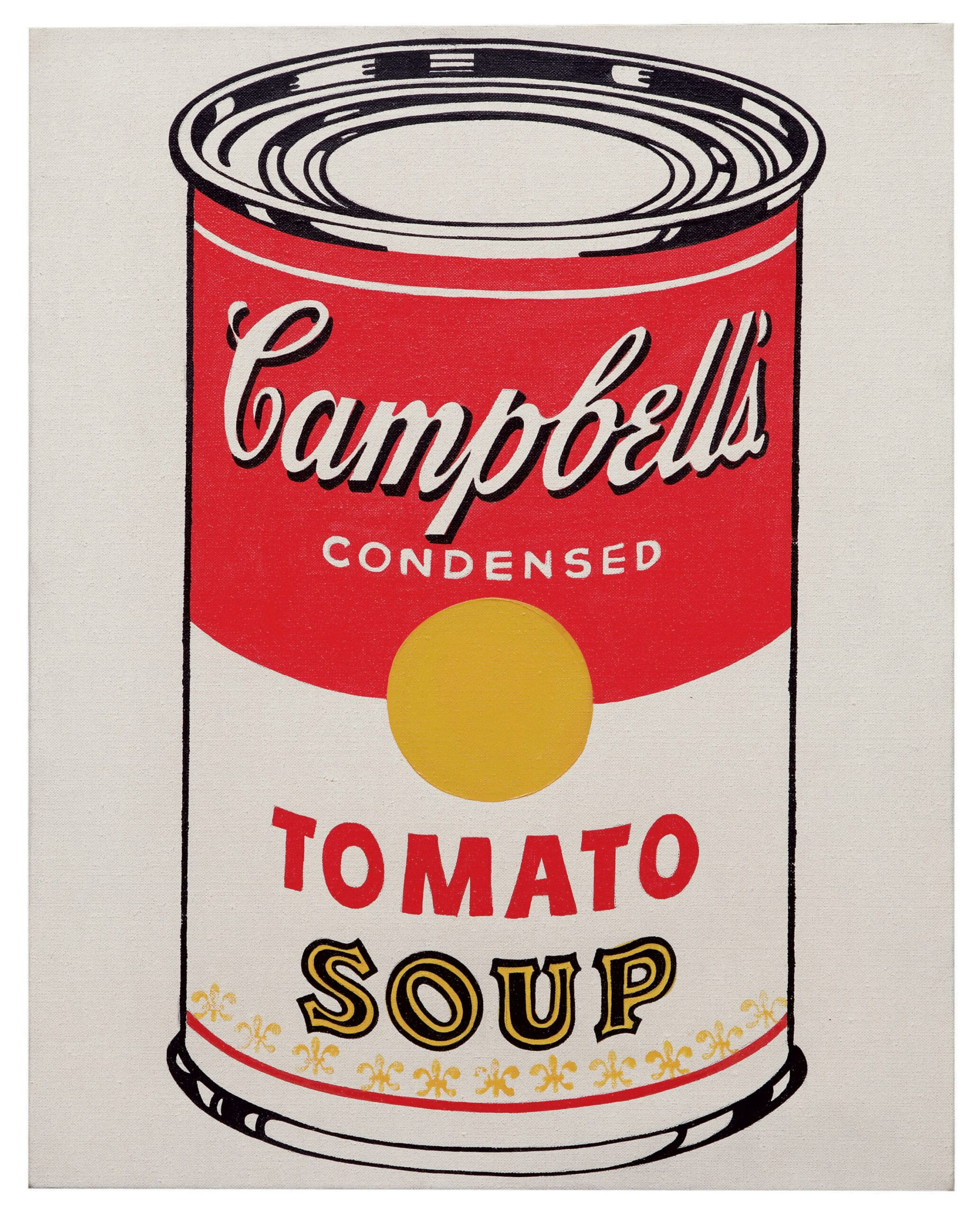 Warhols famous paintings