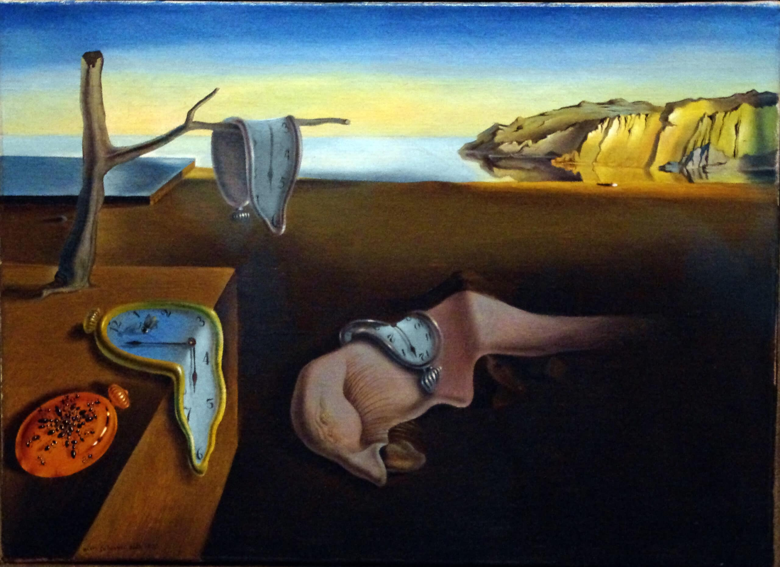 dali- the persistence of memory famous painters